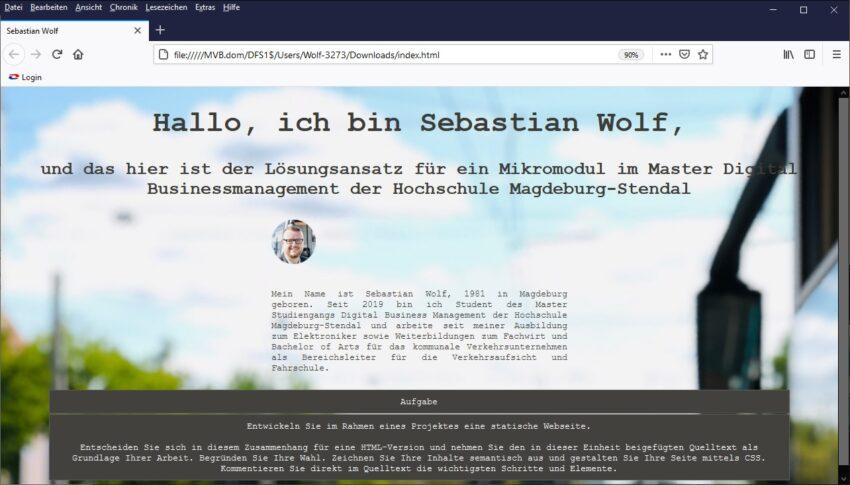 D:17 Skills & Methoden (Mikromodule) TML, XHTML, HTML5 & CSS